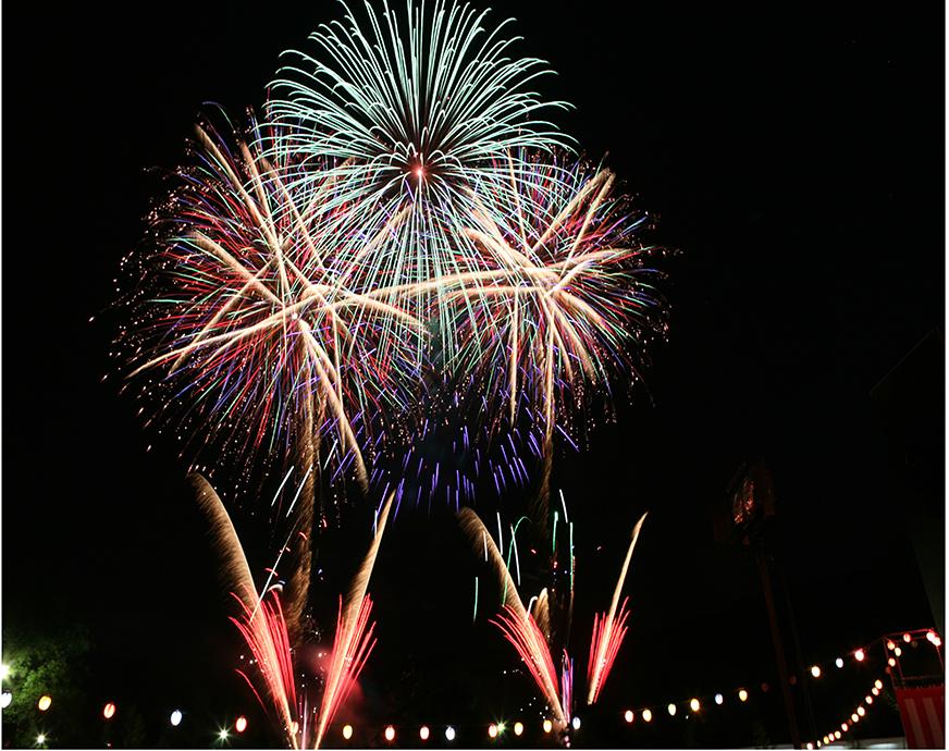明日香村の夏祭り